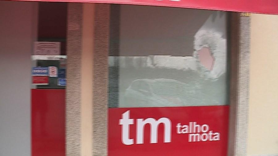 Talho do árbitro da final Sporting-Braga vandalizado após jogo