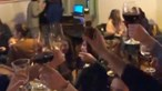 Restaurante em Lisboa que recusou fechar portas durante confinamento faz festa com dezenas de pessoas. Veja as imagens