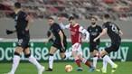 Benfica diz adeus à Liga Europa após derrota frente ao Arsenal na Grécia