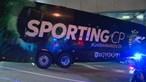 Sporting já chegou ao palco do encontro que pode ser decisivo para os leões. Veja as imagens