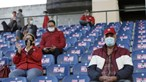 Adeptos voltam a ocupar bancadas no estádio de S. Miguel nos Açores para o primeiro jogo de 2021 com público