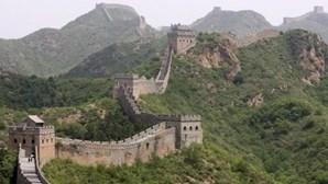 A grande muralha da China que começou a ser erguida antes de Cristo