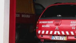 Mais de 20 bombeiros de Moura inoculados contra a Covid-19 com vacinas que sobraram