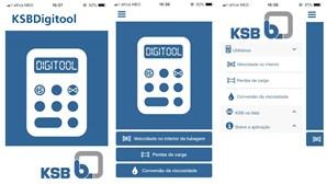 KSB Bombas e Válvulas cria app para cálculo hidráulico.