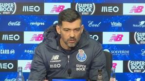 """Sérgio Conceição revela que Sporting """"é uma equipa fácil de desmontar"""""""