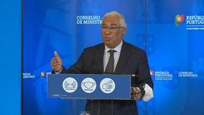 Costa considera essencial consenso nacional sobre Plano de Recuperação e Resiliência e pede envolvimento de todos os setores