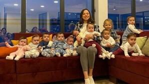 Christina tem 23 anos e já é mãe de 11 crianças mas quer chegar aos 100 filhos