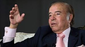 Morreu Carlos Menem, antigo presidente da Argentina