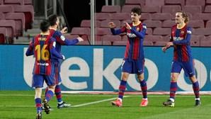 Trincão e Messi são a nova dupla do Barcelona
