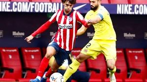João Félix a caminho de ser campeão em Espanha pelo Atlético