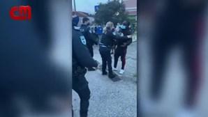 Homem detido no bairro das Galinheiras após ser apanhado a beber álcool na rua