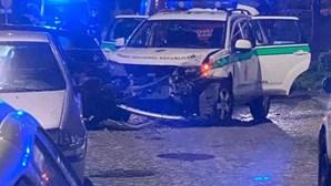 Condutor sem carta foge à GNR e acaba detido após acidente em Gondomar