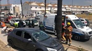 Dois portugueses presos por execução a tiro na rua em Espanha
