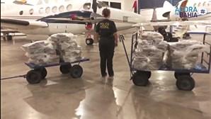 Desmantelado esquema de tráfico de droga em aviões privados de luxo do Brasil para Portugal