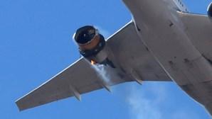 Boeing recomenda suspensão de voos de aviões 777 após falha de motor