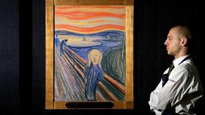 """""""Pintado por um louco"""": Edvard Munch escreveu uma mensagem secreta no quadro """"O Grito"""""""