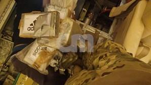 Novas imagens revelam esconderijo da cocaína em avião português retido no Brasil