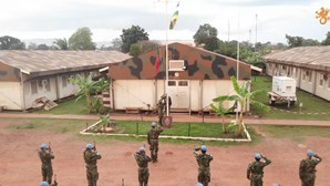 Militares portugueses regressam à base em Bangui após missão na República Centro-Africana