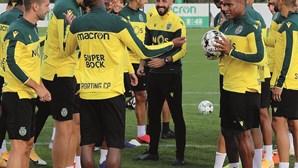 Plantel do Sporting quer dar título sem derrotas a Rúben Amorim