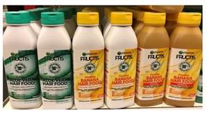 Infarmed alerta que gama Hair Food do champô Fructis pode ser confundida com géneros alimentícios