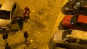 Explosão de gás num prédio em Loures faz um ferido