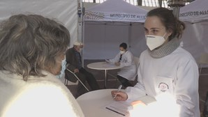 Pavilhão multiusos de Alijó utilizado para vacinação contra a Covid-19