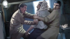 Comerciantes correm ladrão à pancada em Lisboa