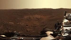 NASA partilha novas imagens de Marte captadas pelo rover Perseverance