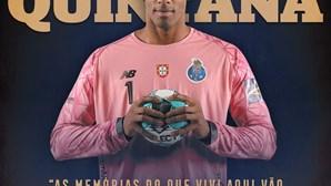 """""""Um verdadeiro Dragão"""": a despedida do FC Porto a Quintana, o guarda-redes de andebol que morreu aos 32 anos"""