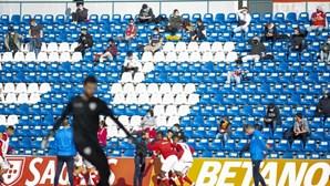Jogos da última jornada da I Liga sem público nas bancadas