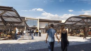 A autarquia projeta para 2023 a abertura do novo mercado municipal