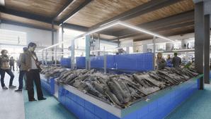 O peixe de Viana do Castelo é uma das grandes apostas do novo mercado que terá 16 bancas de pescado