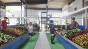 O novo espaço terá no seu interior 20 bancas hortofrutícolas