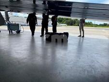 Avião com cocaína vindo do Brasil