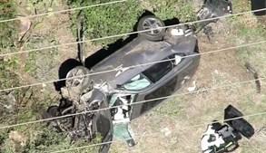 Tiger Woods em estado grave após violento acidente de carro