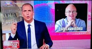 Ricardo Araújo Pereira chamou 'Luís Lambusório' a Luís Osório no programa 'Isto é Gozar com Quem Trabalha'