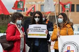 Protestos enfermeiros