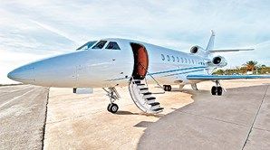 Falcon 900 da Omni retido em Salvador da Baía, no Brasil, está hipotecado à Parvalorem