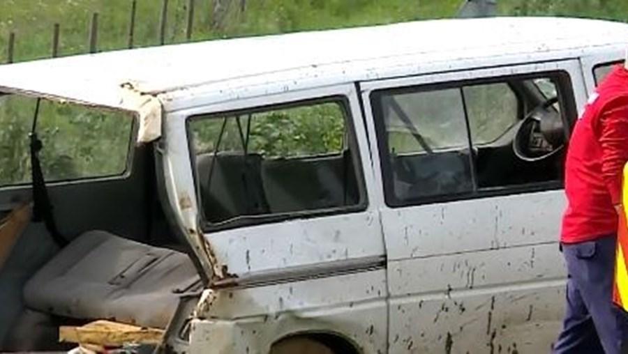 Despiste de carro em Beja