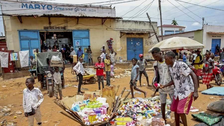 Cafunfo, uma terra rica em diamantes e miséria