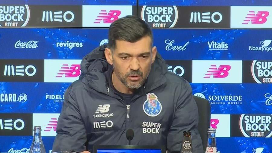 Sérgio Conceição elogiou o Sporting