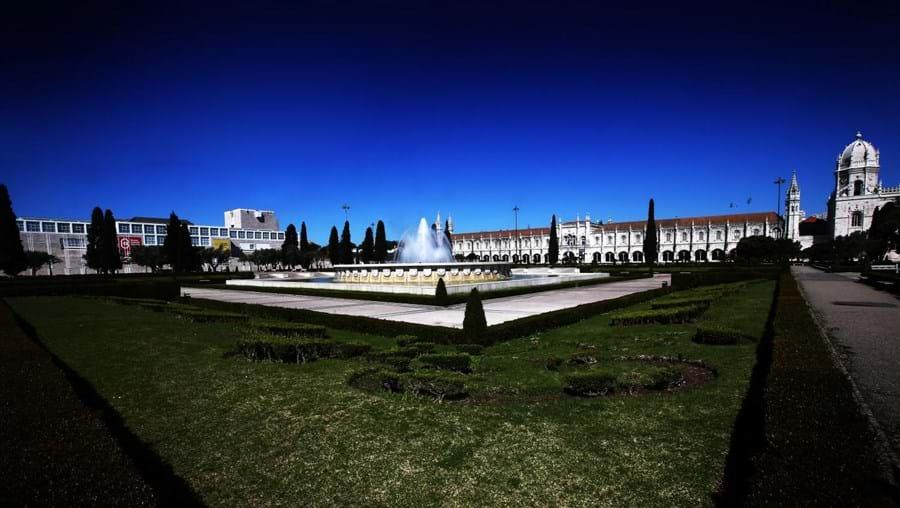 Praça do Império em Belém, Lisboa