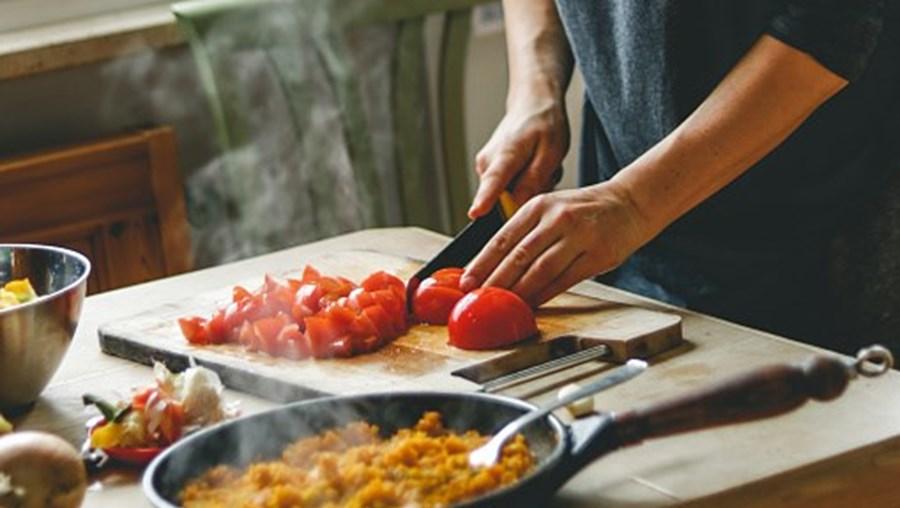 Preparação de comida
