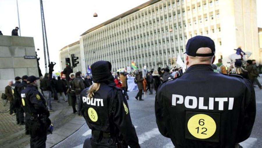 Polícia dinamarquesa