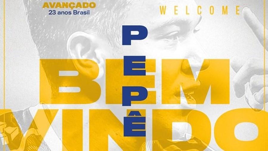 FC Porto oficializa contratação do brasileiro Pepê ao Grémio
