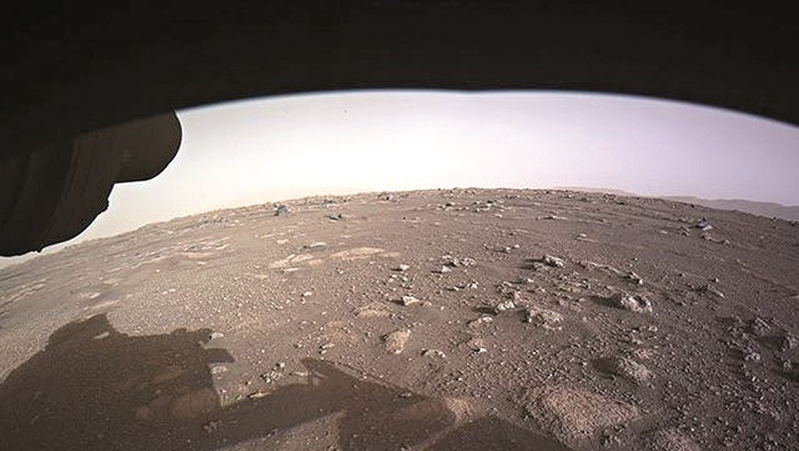 NASA divulgou as primeiras imagens de sempre em alta definição da superfície de Marte captadas pelo 'Perseverance'