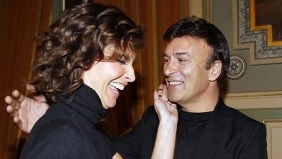 Cristina Ferreira com Tony Carreira