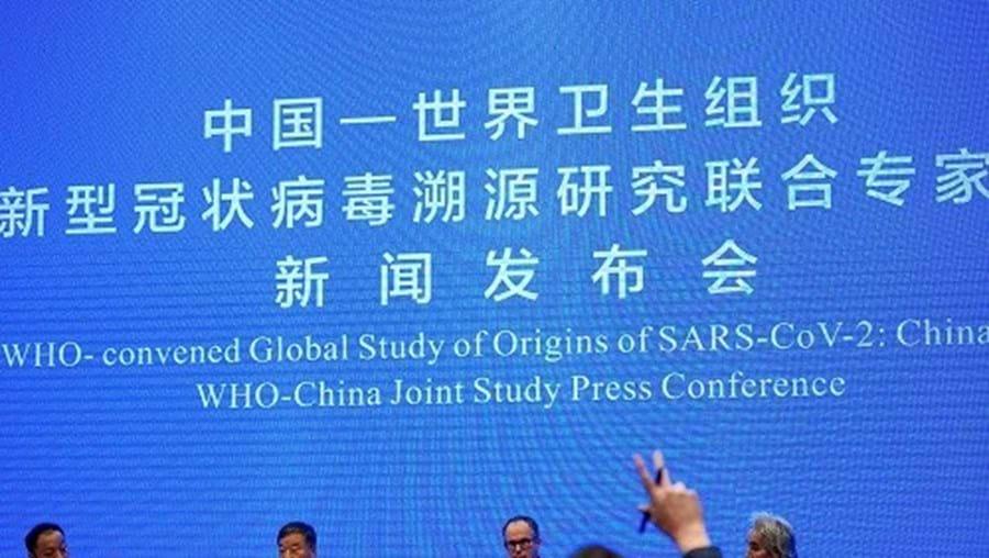 Equipa da OMS estuda origem da Covid-19 em Wuhan, China