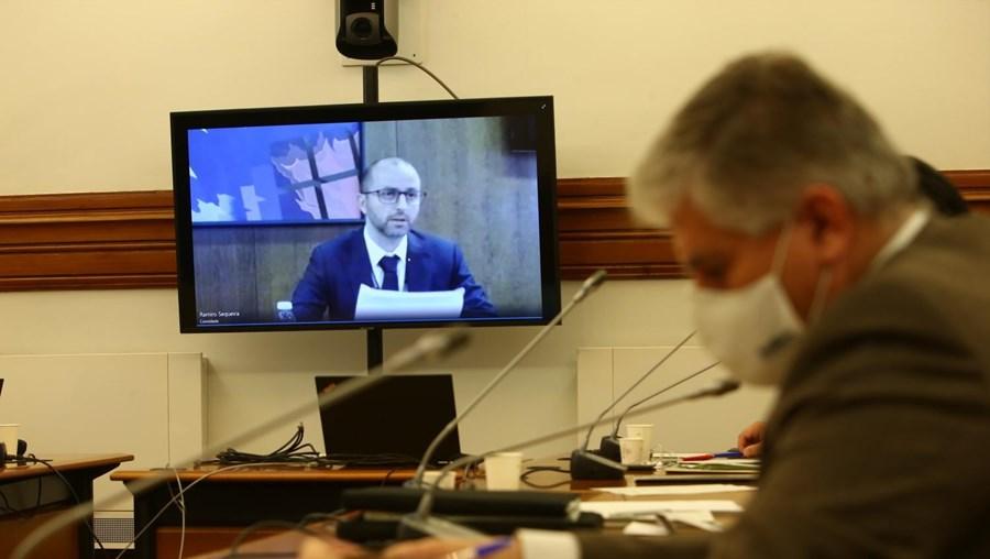 Ramiro Sequeira ouvido na Assembleia da República