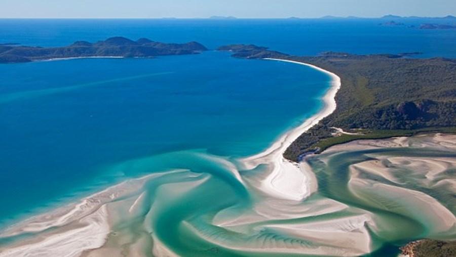 Whitehaven Beach, na Austrália